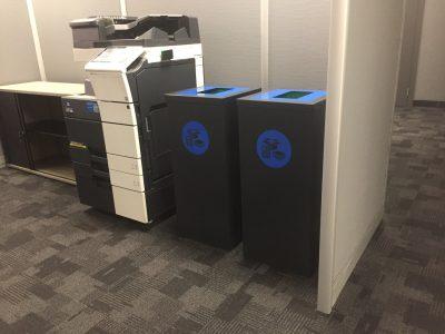 Old Mutual Insures Paper Recycling Bin