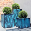 Painted Cube Planters