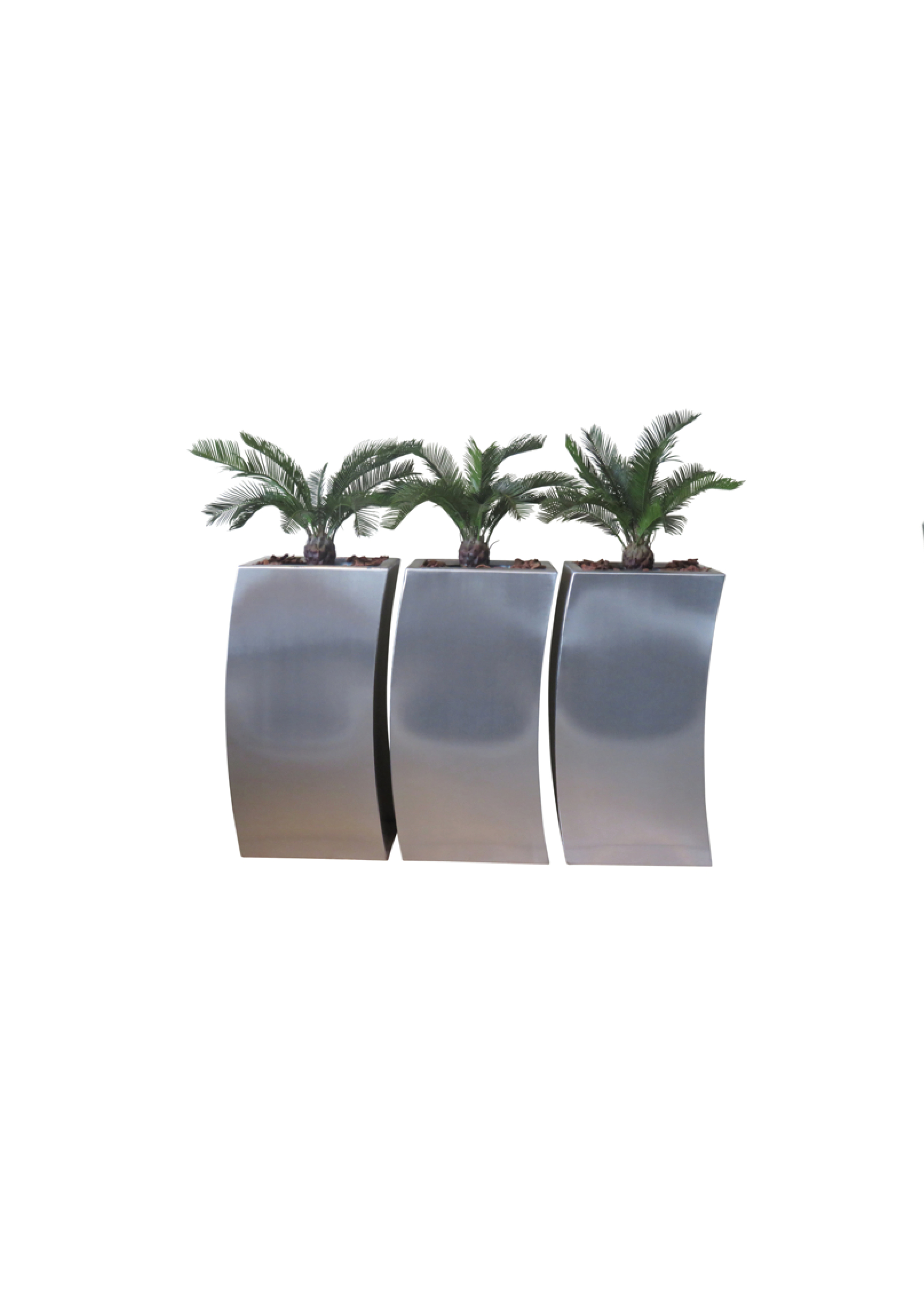 Curved Planter benches - Europlanters Curved Planter Benches  |Arched Planters