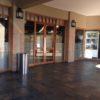 Cylinder Litter Bin Shop Entrance