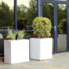 Cube and Trough Planters